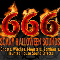 666 Scary Halloween Sounds_ Ghosts, Witches, Monsters, Zombies & Haunted House Sound Effects