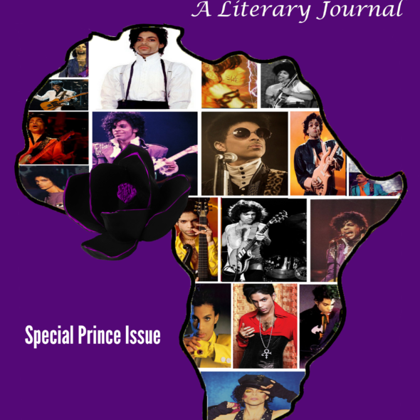 Black Magnolias Literary Journal Cover (Special Prince Edition)